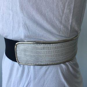 BCBGMaxaria Faux Leather Belt